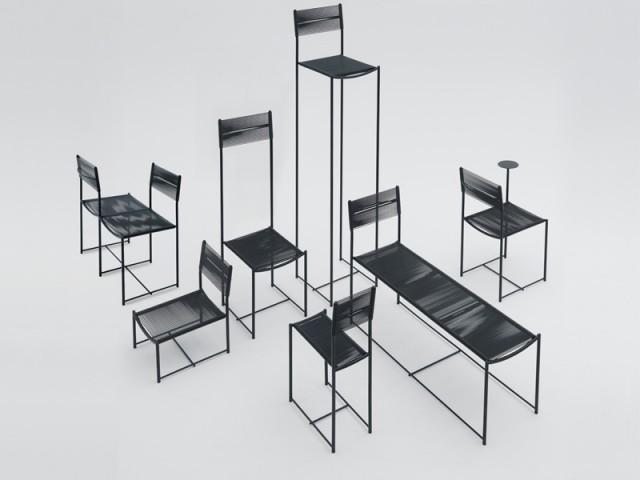ALIAS Spaghetti Chairs, design Alfredo Haberli