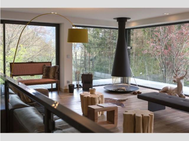 Deux types d'espaces intérieurs - Chalet Soleya