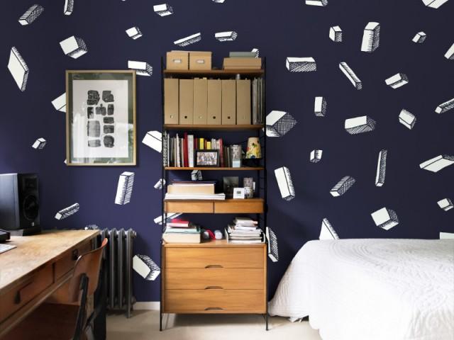 Nuance De Bleu Marine Pour Une Chambre Intemporelle   Idées Pour Une Chambre  Bleue