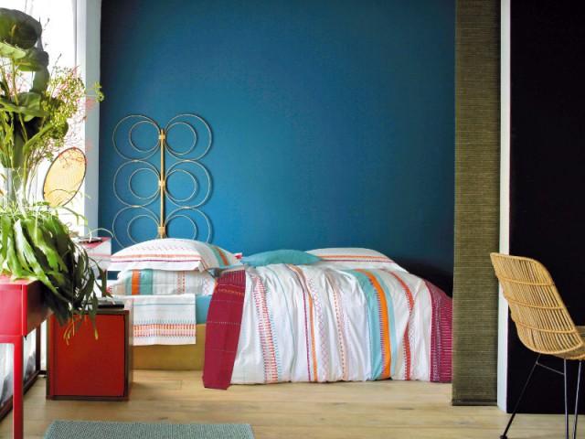 Nuance de bleu céruléen pour une chambre pop - Idées pour une chambre bleue