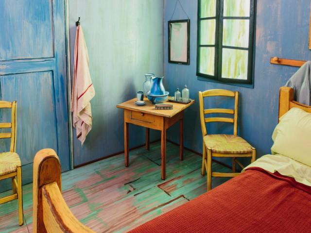 Un projet innovant initié par l'Institut des Arts de Chicago - Dormir dans la chambre de Van Gogh