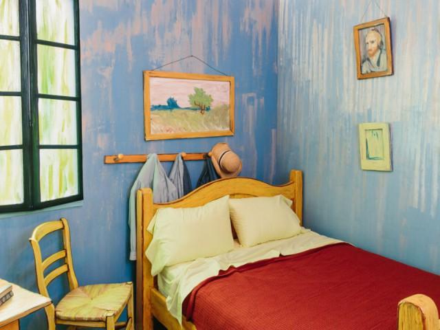 Une impression d'ordre et de tranquillité - Dormir dans la chambre de Van Gogh