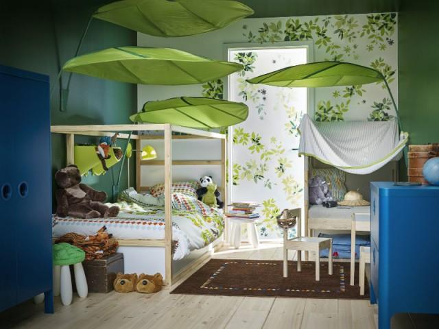 """Une chambre d'enfant aux airs """"jungle"""""""