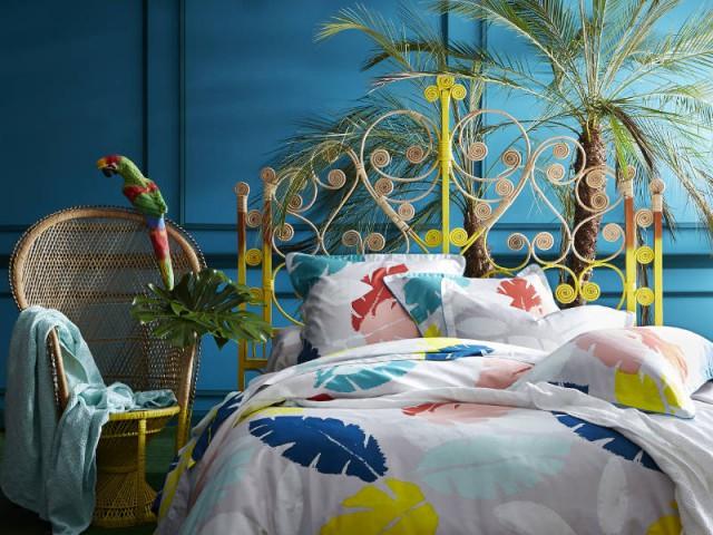 """Une chambre entièrement """"jungle"""""""