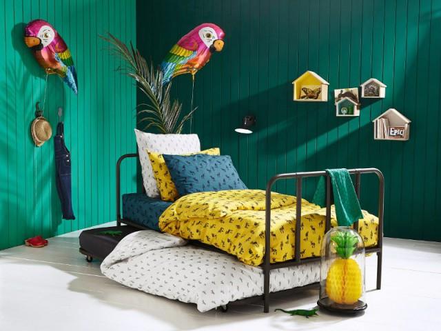 """Une chambre """"jungle"""" pour plus d'exotisme - Une chambre entièrement """"jungle"""""""