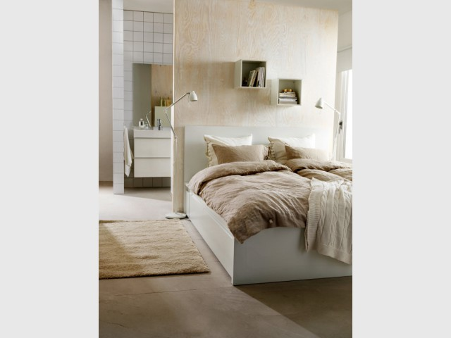 Suite parentale 10 solutions pour s parer la chambre de for Mini suite parentale