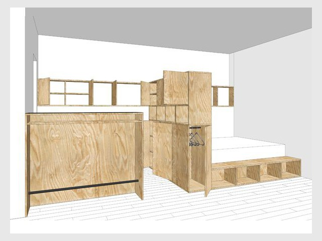 Des espaces et usages bien définis - Studio égoïne