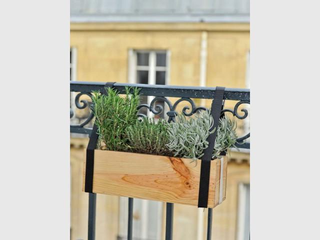 Une balconnière à offrir en cadeau