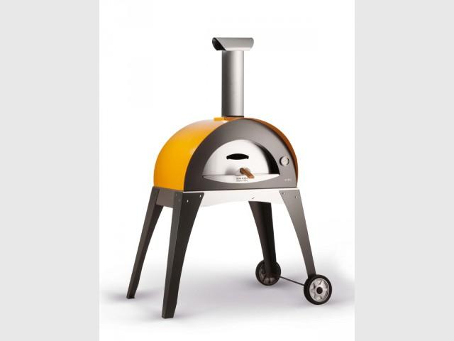 Un four à pizza design et mobile
