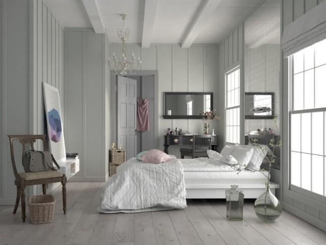 Un parquet grisé pour plus de luminosité - Différentes teintes pour différents effets