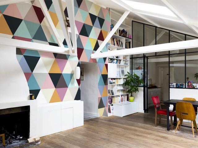 Un intérieur dépareillé style arlequin - Un intérieur dépareillé