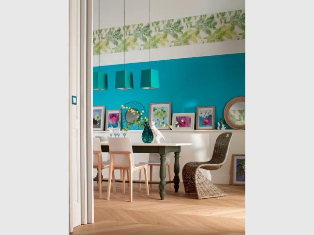 Un intérieur dépareillé style tropical - Un intérieur dépareillé