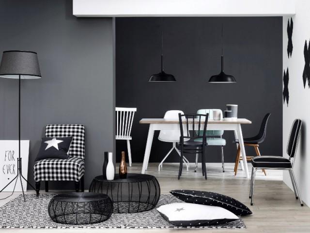 Un intérieur dépareillé style noir et blanc - Un intérieur dépareillé