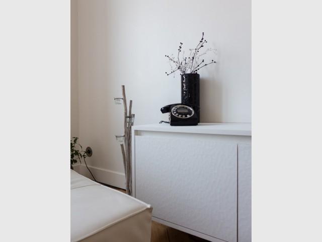 Du blanc rien que du blanc - Un 115 m2 se réinvente autour d'une cuisine