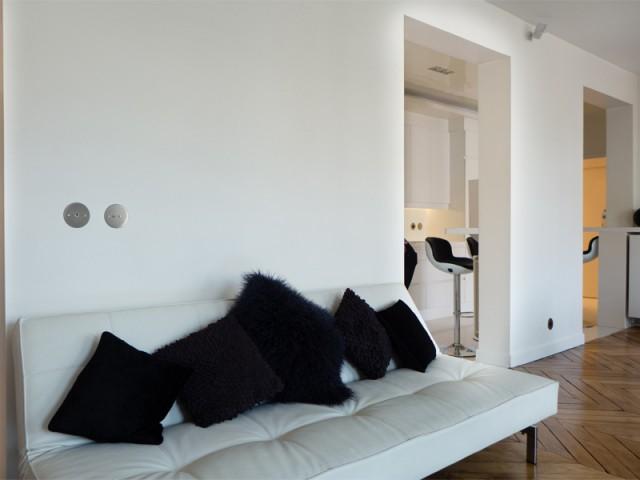 Une cuisine ouverte mais délimitée - Un 115 m2 se réinvente autour d'une cuisine