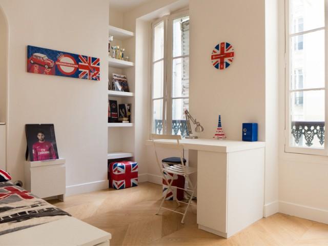 Deux autres chambres dédiées aux enfants - Un 115 m2 se réinvente autour d'une cuisine