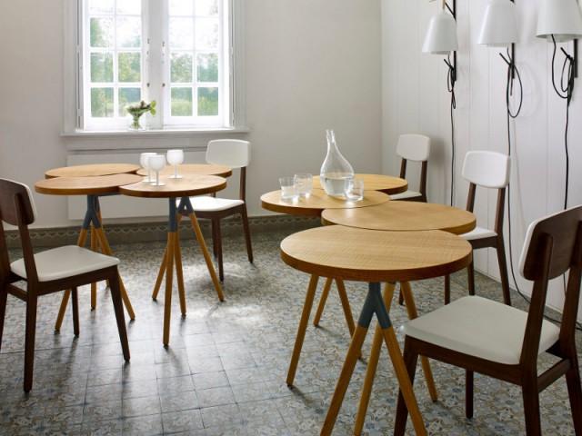 Une table déstructurée pour une salle à manger façon bistrot - Dynamiser sa salle à manger
