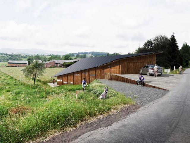 Maison La Garandie, Kengo Kuma