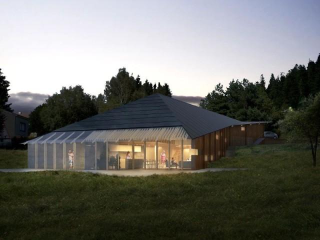 Maison Butterfly de K. Kuma : Fiche technique - Maison La Garandie, Kengo Kuma