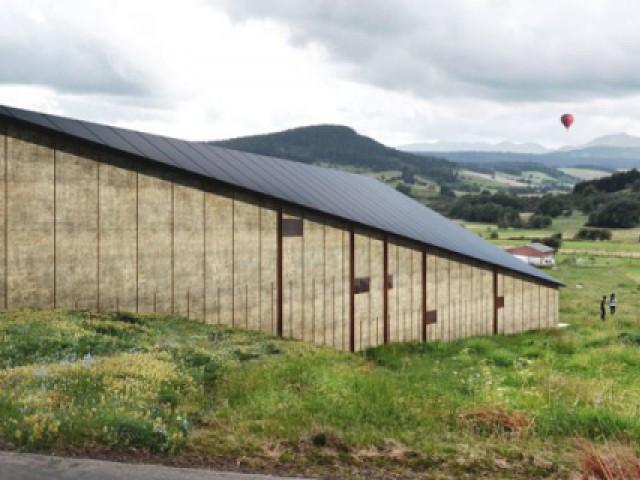 Maison Butterfly de K. Kuma : Une façade latérale rythmée - Maison La Garandie, Kengo Kuma