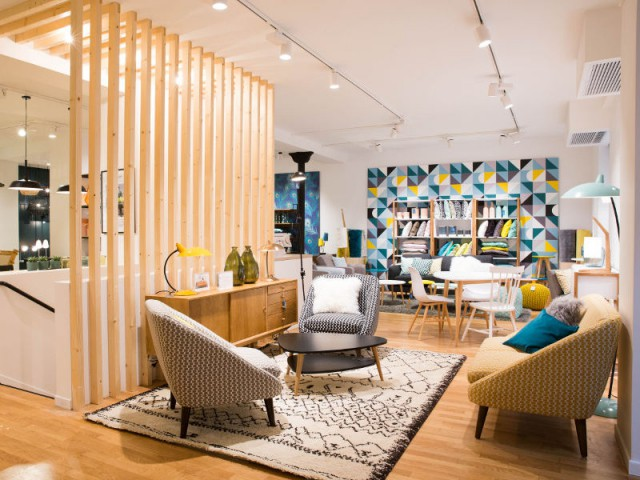 la redoute int rieurs la premi re boutique ouvre ses portes paris. Black Bedroom Furniture Sets. Home Design Ideas