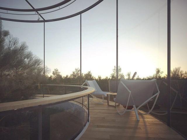 Tree House offre une vue de rêve - Tree House
