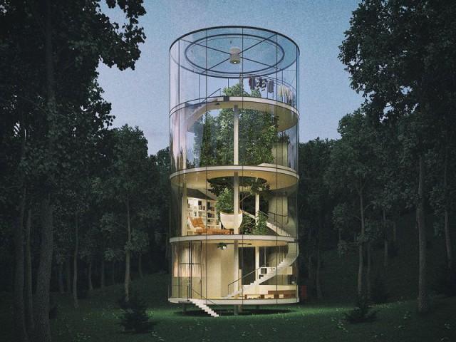 Tree House : détail insolite au dernier niveau - Tree House