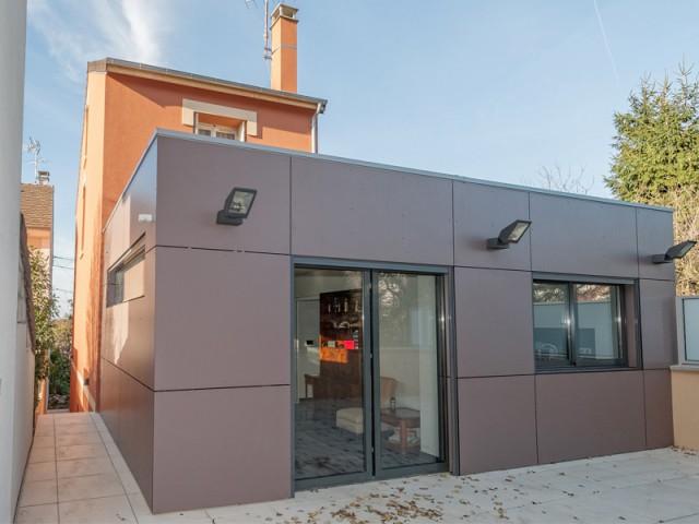 D'importants gains énergétiques à la clé - Rénovation et surélévation à Bry-sur-Marne