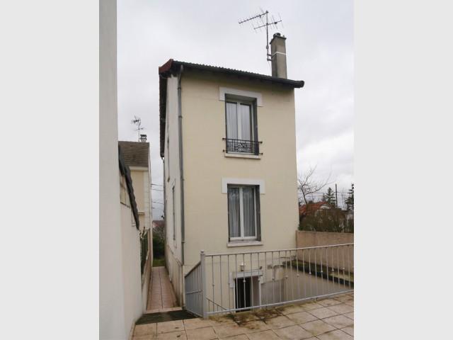 Une maison existante de surface réduite et mal isolée - Rénovation et surélévation à Bry-sur-Marne