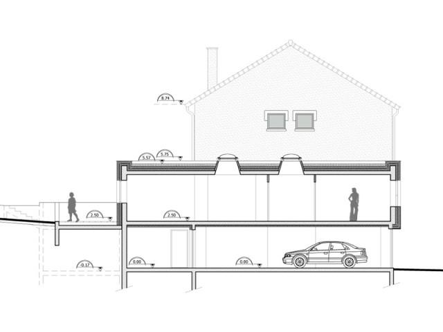 Un rattrapage de niveau qui a permis une réorganisation de la maison  - Rénovation et surélévation à Bry-sur-Marne