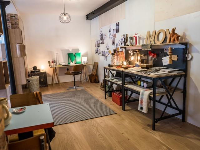 Présence indispensable d'un bureau mais dans un endroit à l'écart - Un appartement conçu par et pour la Génération Y