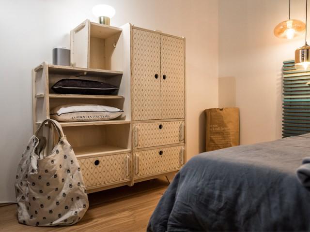 Du mobilier fait maison ou chiné - Un appartement conçu par et pour la Génération Y