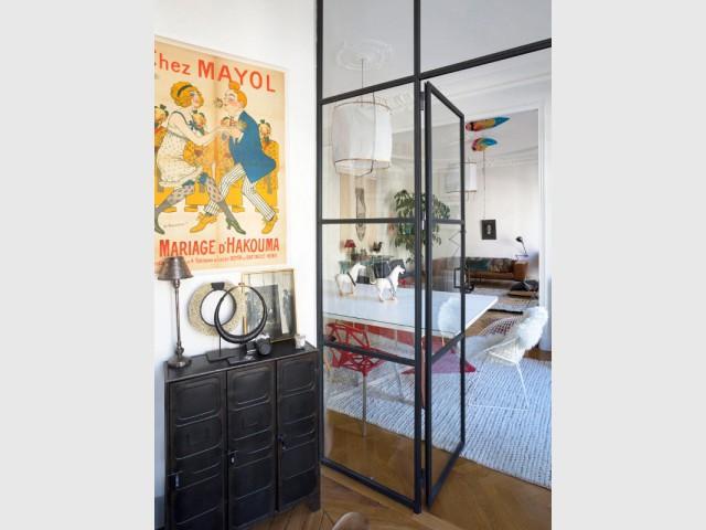 Une verrière montée en une journée pour créer un bureau - Une verrière d'intérieur pour créer un coin bureau