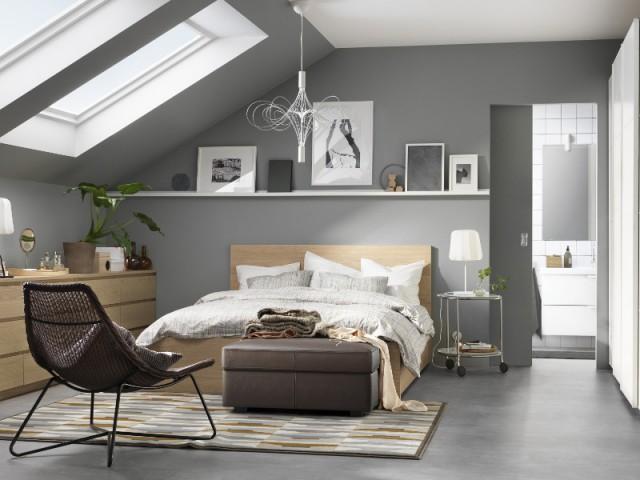 Dix manières d'aménager une chambre sous les toits