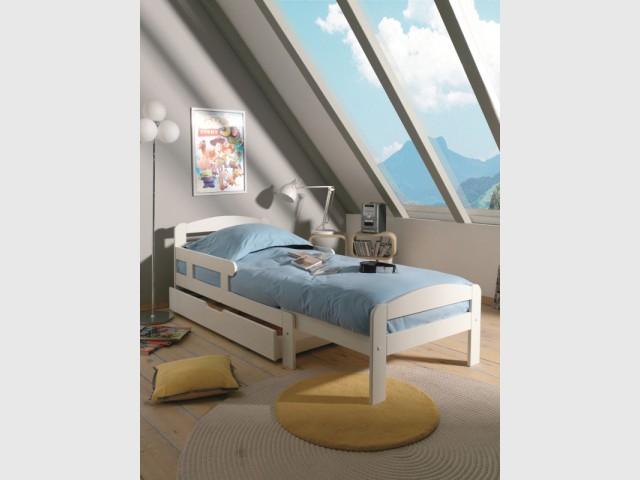 Un lit extensible pour les petites chambres