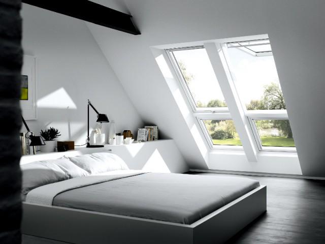 Une double fenêtre de toit pour plus de lumière