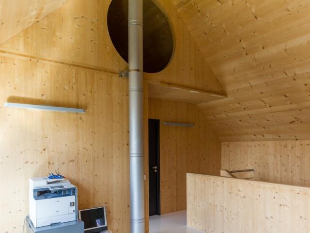 Une construction passive exclusivement en bois
