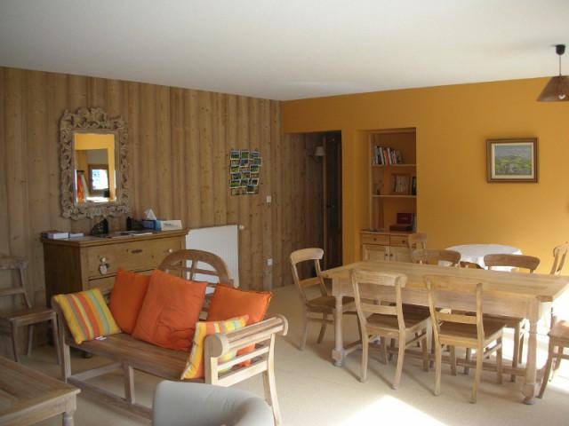 Un intérieur chaleureux au propre comme au figuré - Un chalet métamorphosé en maison d'hôtes