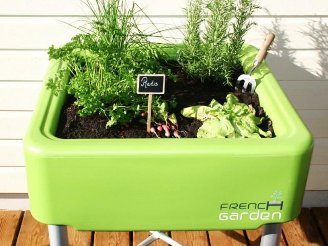Un potager pour jardiner à portée de main - Le jardinage pour les petits