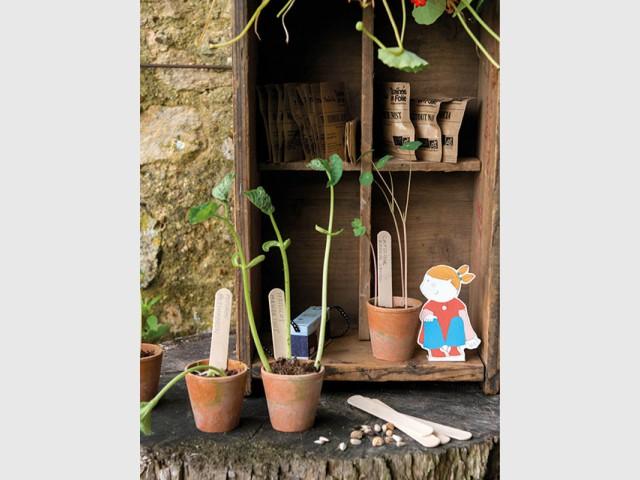 """Un guide pédagogique pour jardiner comme un """"grand"""" - Le jardinage pour les petits"""