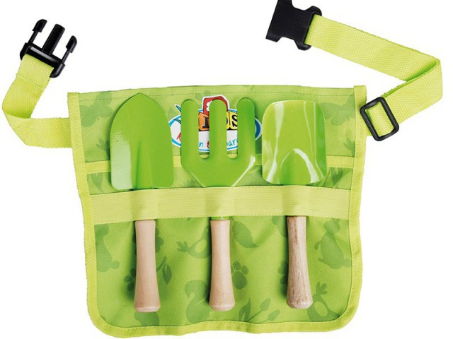 Une ceinture à outils pour jardiner en toute légerté - Le jardinage pour les petits