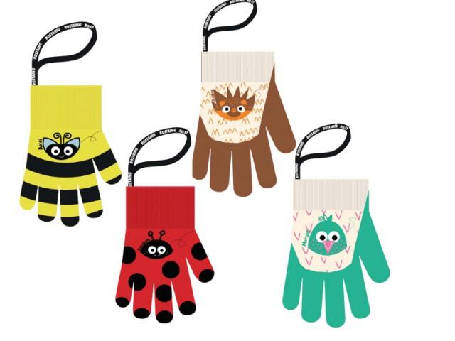 Des gants ludiques pour jardiner sans se blesser  - Le jardinage pour les petits