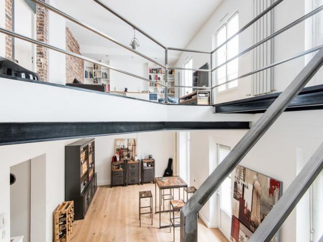 Deux appartements réunis en un duplex