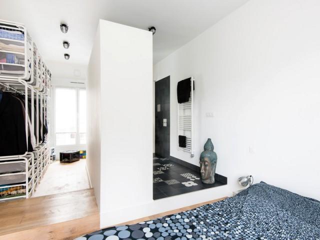 Une suite parentale, vrai défi technique dans le duplex - Deux appartements réunis en un duplex