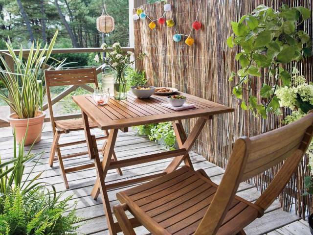 Une clôture en bambou pour un espace étriqué  - Un jardin delimité pour plus d'intimité