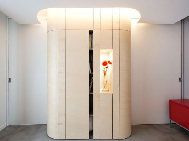 Une salle de prise de vue dissimulée  - Un café traditionnel transformé en bureau et logement privé