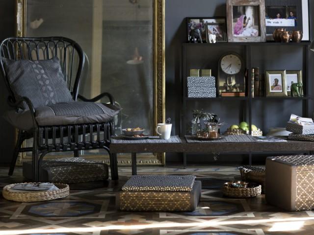 Un Salon Sans Canapé Pour Optimiser Lu0027espace