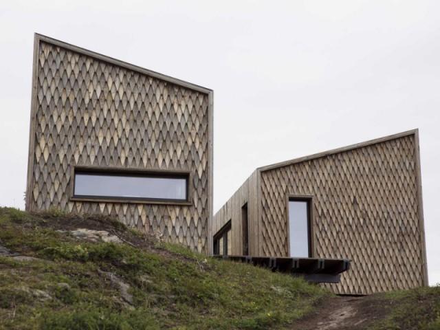 Maison Kebony en Norvège : un bardage inédit - Maison Kebony - Norvège