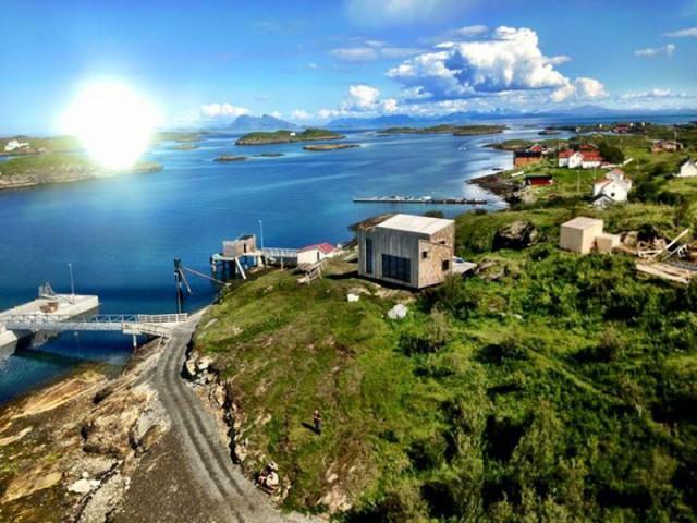 Maison Kebony en Norvège : une implantation pensée pour inspirer - Maison Kebony - Norvège