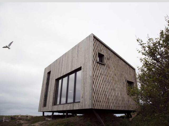 Maison Kebony en Norvège : à la limite de la civilisation - Maison Kebony - Norvège